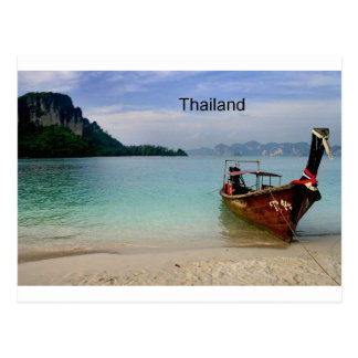 Postal Playa de Tailandia en Krabi (St.K)
