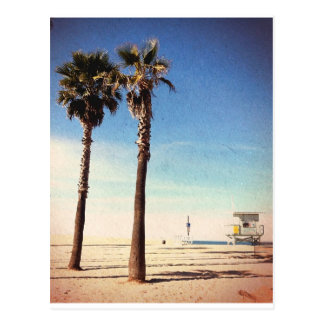 Postal Playa de Venecia del vintage