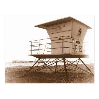 Postal Playa de Ventura de la torre del salvavidas