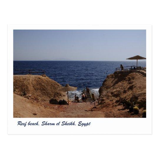 Postal Playa del filón, Sharm el Sheikh, Egipto