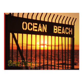 Postal Playa del océano