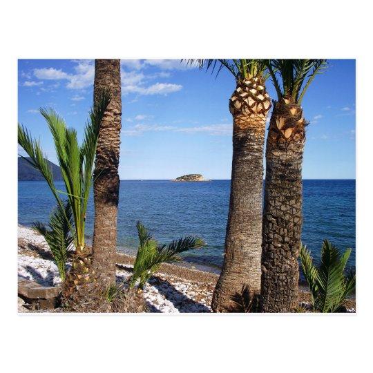 Postal Playa en el Albir, Altea, Alicante