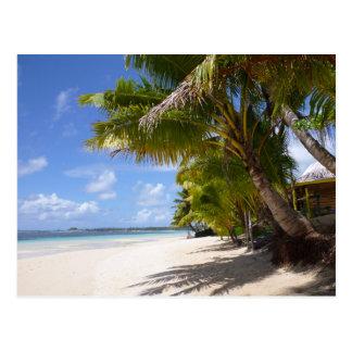 Postal Playa en Samoa Americana Savaii