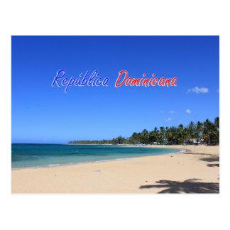 Postal Playa Las Terrenas Samaná República Dominicana