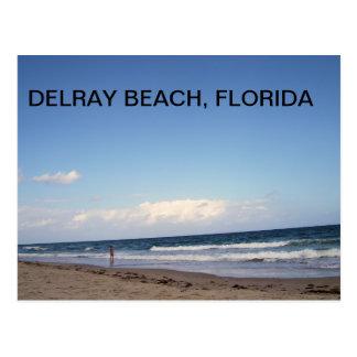 POSTAL PLAYAS DE DELRAY BEACH