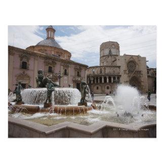 Postal Plaza De La Virgin y Basilica De Virgen