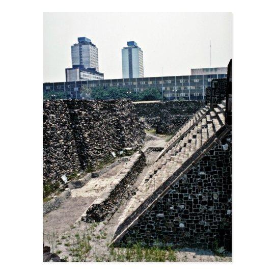 Postal Plaza de tres culturas, Ciudad de México