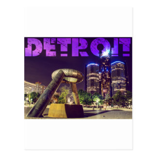 Postal Plaza del ciervo de Detroit