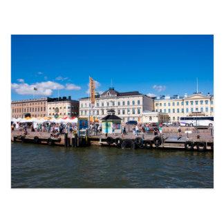 Postal Plaza del mercado de Helsinki