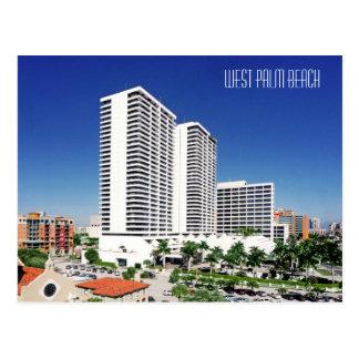 Postal Plaza del triunfo, West Palm Beach, la Florida