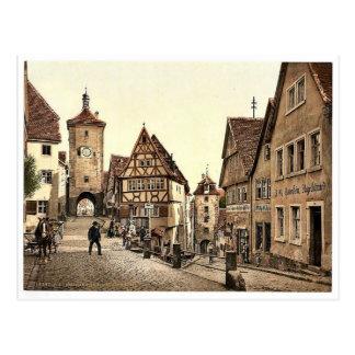 Postal Ploenlein, Rothenburg (es decir der Tauber),
