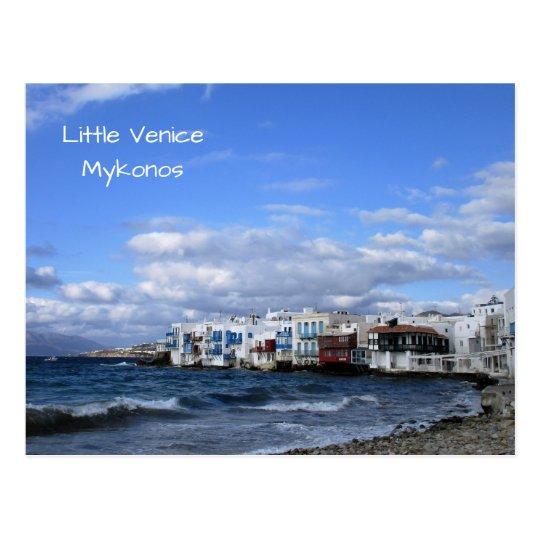 Postal Poca Venecia, Mykonos