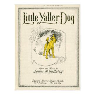 Postal Poco perro de Yaller