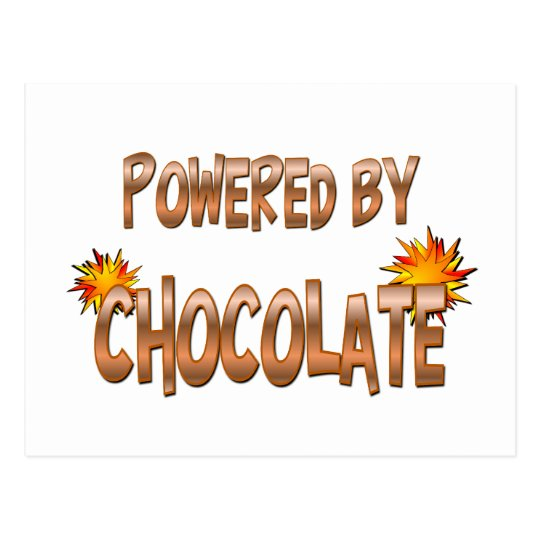 Postal Poder del chocolate