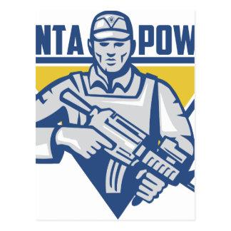 Postal Poder ucraniano de la junta del ejército