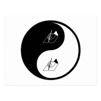 Postal Poesía de Yin Yang