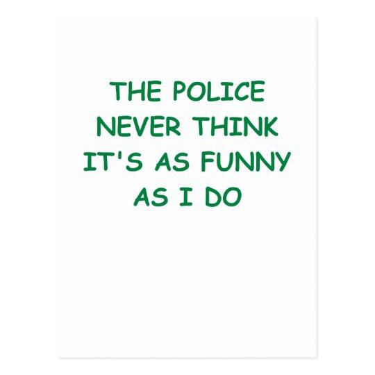 Postal policía