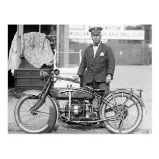 Postal Policía Motorcycle, 1922 de Henderson
