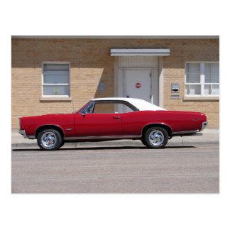 Postal Pontiac 1967 GTO