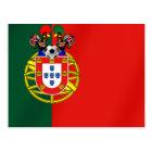 Postal Por Fás de Portugal de Bandeira Portuguesa