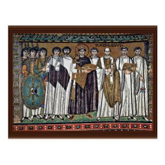 Postal Por Meister Von San Vitale en Ravena (la mejor