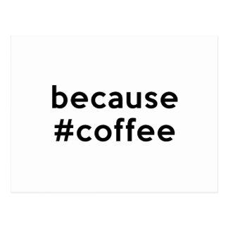 Postal Porque café