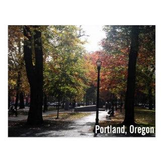Postal Portland céntrica, fuente de alimentación