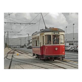 Postal Portugal: El tranvía Sintra y Praia das Mäças