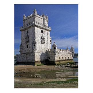 Postal Portugal, Lisboa. Torre de Belem, un mundo de la