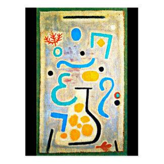 Postal Postal-Clásico/Vintage-Paul Klee 54