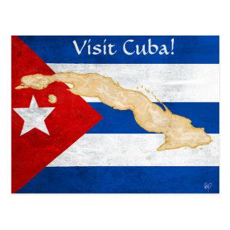 "Postal ""Postal de Cuba de la visita"""