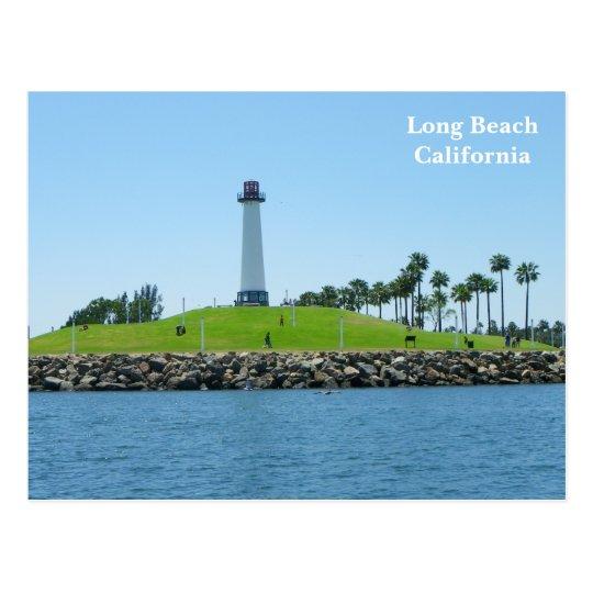 Postal ¡Postal del faro de Long Beach!
