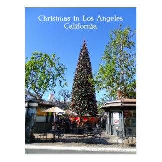 Postal ¡Postal del navidad de Los Ángeles!
