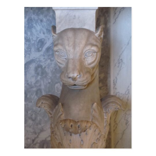 Postal Postal--Gato egipcio