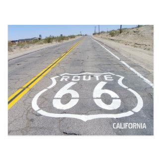 Postal ¡Postal histórica de la ruta 66!