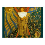 Postal Postal: La pintura de Rossetti del amor