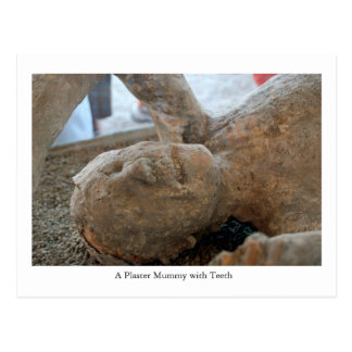 Postal Postal, momia de la UNESCO, dientes de Pompeya,