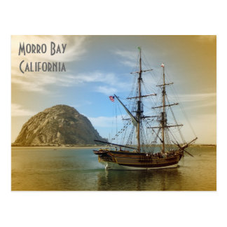 Postal ¡Postal muy hermosa de la bahía de Morro!