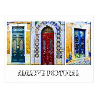Postal Postal: Puertas portuguesas