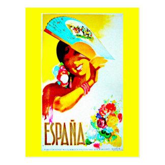 Postal Postal-Vintage Viaje-España