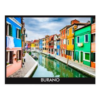 Postal Postales, Burano, Italia