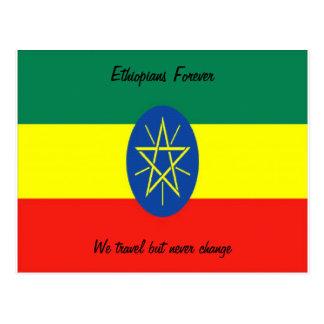 Postal Postales-ethiopians de Etiopía para siempre