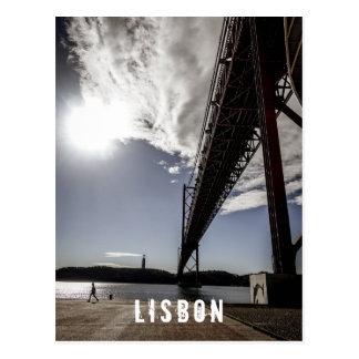 Postal Postard de Lisboa, Portugal