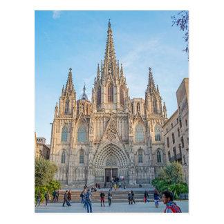 Postal Postcard Barcelona Granitado, Spain