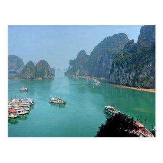 Postal Postcard Ha. Long Bay en Quảng Ninh, Vietnam