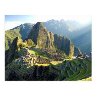 Postal Postcard Machu Picchu, Peru