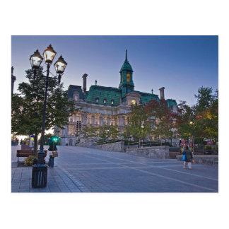 Postal Postcard Montreal (el Canadá) Town Vestíbulo