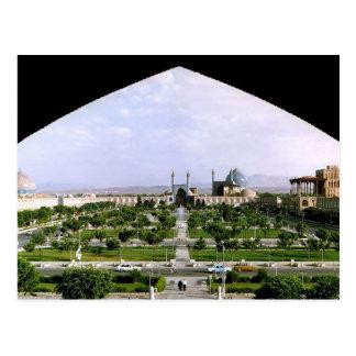 Postal Postcard Naghsh-i Jahan Square, Isfahan, Iran