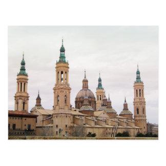 Postal Postcard of Zaragoza