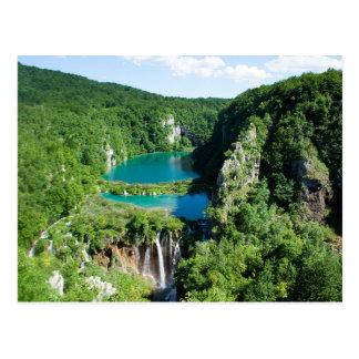 Postal Postcard Plitvice Lakes National Park, Croatia
